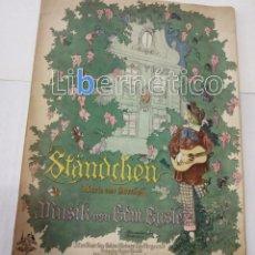 Libros antiguos: PARTITURA PARA PIANO. STÄNDCHEN. VALSE BOSTON: MUSIK VON EDM EYSTER.. Lote 118297139