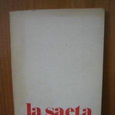 Libros antiguos: 1. LA SAETA POR LUIS MELGAR REINA. Lote 121987447