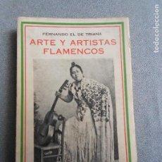 Libros antiguos: ARTE Y ARTISTAS FLAMENCOS. Lote 122592303