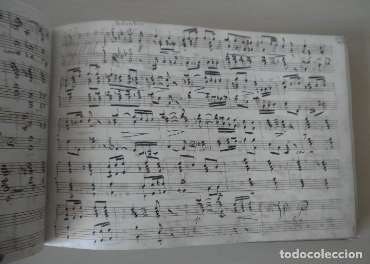 Libros antiguos: MUSEO ORGANICO ESPAÑOL POR D.HILARION ESLAVA - MANUSCRITO SIGLO XIX - EXCEPCIONAL. - Foto 7 - 122759243