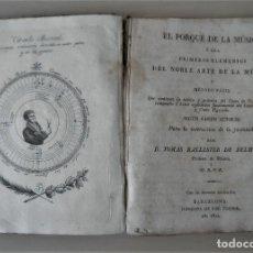 Libros antiguos: NOBLE ARTE DE LA MUSICA·CANTO LLANO - AÑO 1824 - T.BALLESTER - ILUSTRADO.. Lote 122760759