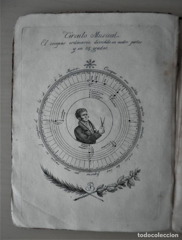 Libros antiguos: NOBLE ARTE DE LA MUSICA·CANTO LLANO - AÑO 1824 - T.BALLESTER - ILUSTRADO. - Foto 3 - 122760759