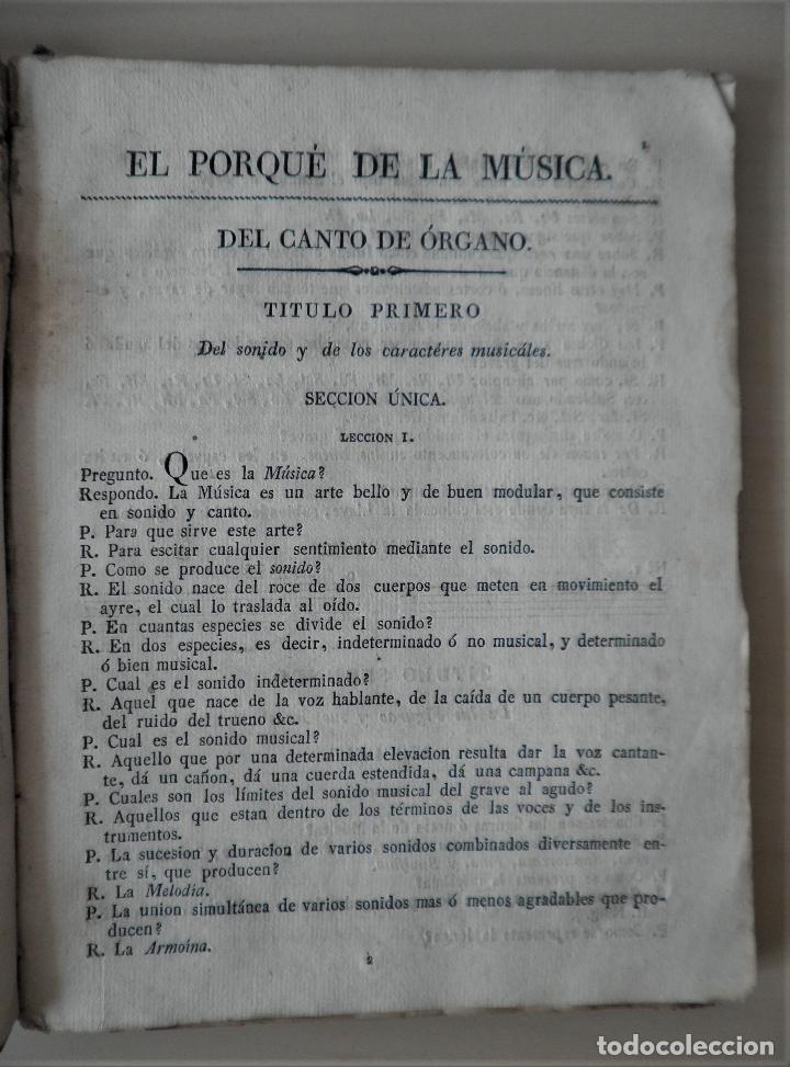Libros antiguos: NOBLE ARTE DE LA MUSICA·CANTO LLANO - AÑO 1824 - T.BALLESTER - ILUSTRADO. - Foto 6 - 122760759