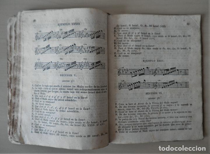 Libros antiguos: NOBLE ARTE DE LA MUSICA·CANTO LLANO - AÑO 1824 - T.BALLESTER - ILUSTRADO. - Foto 7 - 122760759