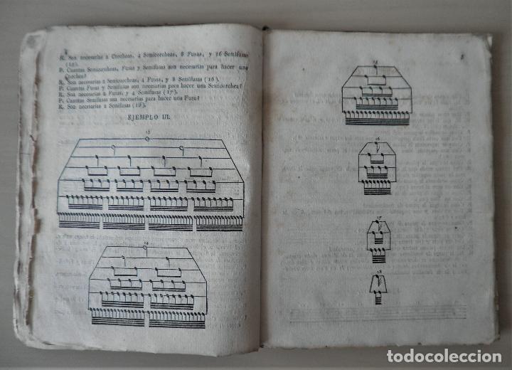 Libros antiguos: NOBLE ARTE DE LA MUSICA·CANTO LLANO - AÑO 1824 - T.BALLESTER - ILUSTRADO. - Foto 8 - 122760759