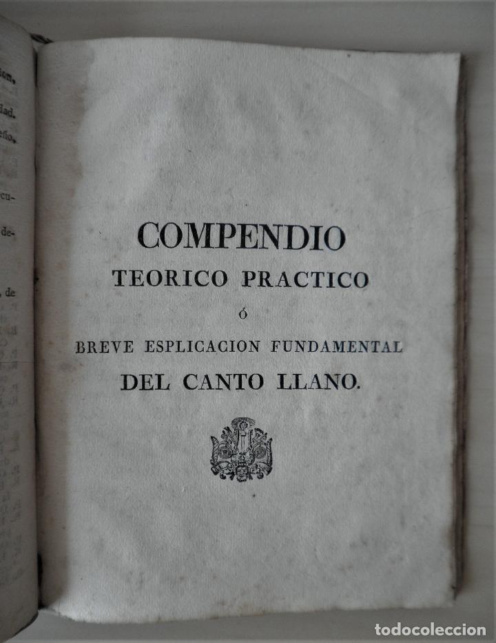 Libros antiguos: NOBLE ARTE DE LA MUSICA·CANTO LLANO - AÑO 1824 - T.BALLESTER - ILUSTRADO. - Foto 9 - 122760759
