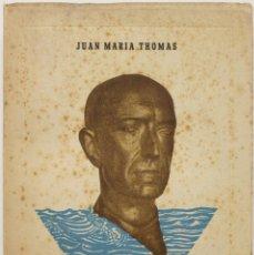 Libros antiguos: MANUEL DE FALLA EN LA ISLA. - THOMAS, JUAN MARÍA.. Lote 123252212