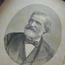 Libros antiguos: LIBRETTO DE LA TRAVIATA C. 1890 FIRMA DEL PROPIO GIUSEPPE VERDI LITOGRAFIADA? COMPLETO. Lote 139177657
