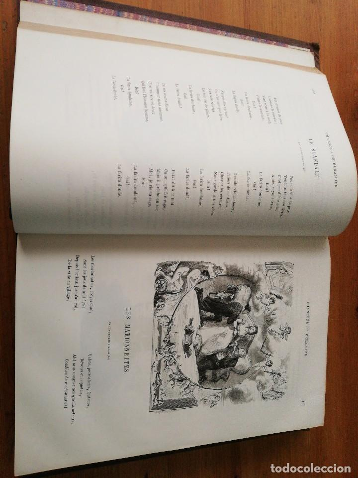 Libros antiguos: Chansons. P-J de Beranger. 1866. - Foto 9 - 125262539