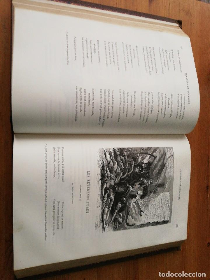 Libros antiguos: Chansons. P-J de Beranger. 1866. - Foto 10 - 125262539