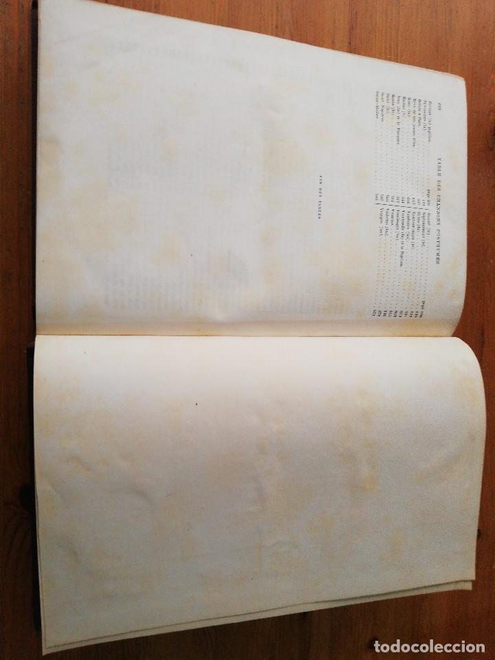 Libros antiguos: Chansons. P-J de Beranger. 1866. - Foto 17 - 125262539