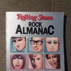 Libros antiguos: LIBRO ROCK ALMANAC ALMANAQUE ROLLING STONES. Lote 125389543