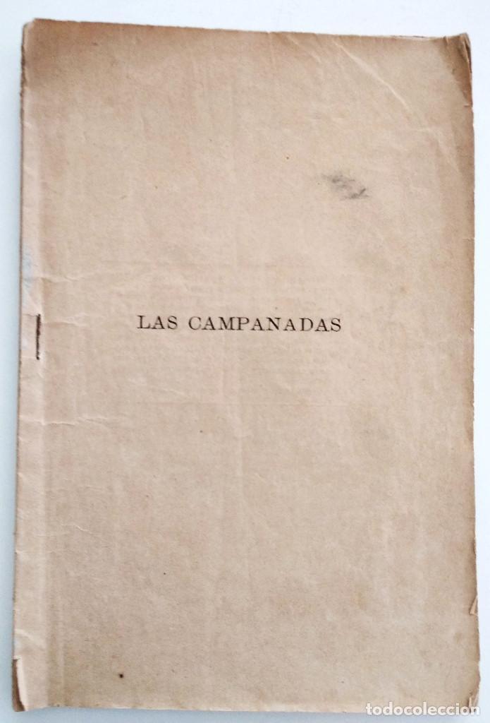 LAS CAMPANADAS, ZARZUELA CÓMICA - CARLOS ARNICHES Y GONZALO CANTÓ - MÚSICA CHAPÍ - AÑO 1892 (Libros Antiguos, Raros y Curiosos - Bellas artes, ocio y coleccion - Música)