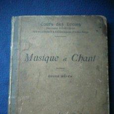 Libros antiguos: LA MARSELLESA LIBRO MÚSICA. Lote 128108531