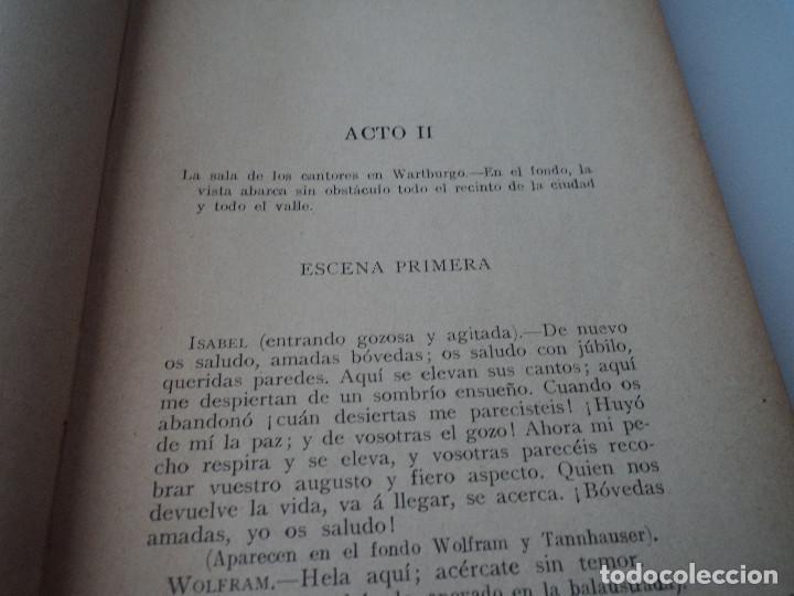 Libros antiguos: DRAMAS MUSICALES DE WAGNER, TOMO II, 1908 - Foto 3 - 128439931