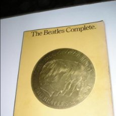Libros antiguos: THE BEATLES COMPLETE GUITAR/VOCAL EDITION PARTITURAS. Lote 130885612
