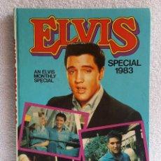 Libros antiguos: ELVIS SPECIAL 1983 - EN INGLES. Lote 130923492