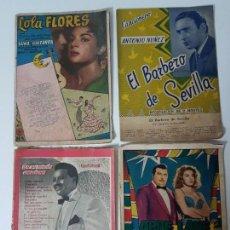 Libros antiguos: CANCIONEROS ( 4 LIBROS ). Lote 131037868