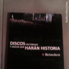 Libros antiguos: LIBRO DISCOS HISTORICOS Y DISCOS QUE HARAN HISTORIA 2008 EDITORIAL RANDOM. Lote 134873570