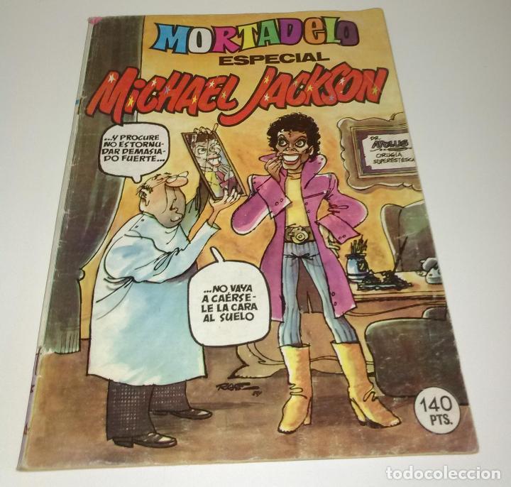 COMIC MORTADELO Y FILEMON.: ESPECIAL MICHAEL JACKSON. MUY BUSCADO. (Libros Antiguos, Raros y Curiosos - Bellas artes, ocio y coleccion - Música)