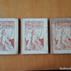 Libros antiguos: CANÇONER POPULAR, AURELI CAPMANY, 1901-1913. TRES VOLUMÉNES, PRIMERA EDICIÓN. Lote 136464886