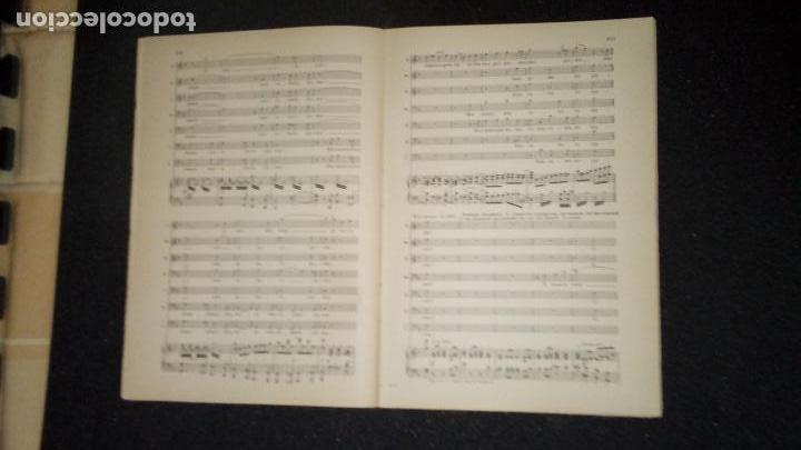 Libros antiguos: Partitura para Canto y Piano de Tannhauser. Musica. - Foto 3 - 136773202