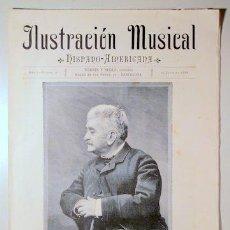 Libros antiguos: ILUSTRACIÓN MUSICAL HISPANO-AMERICANA. AÑO I. NÚMERO 10 - 15 JUNIO - BARCELONA 1888. Lote 139151222