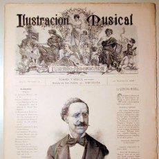 Libros antiguos: ILUSTRACIÓN MUSICAL HISPANO-AMERICANA. AÑO I. NÚMERO 15 - 30 AGOSTO - BARCELONA 1888. Lote 139151238