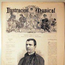 Libros antiguos: ILUSTRACIÓN MUSICAL HISPANO-AMERICANA. AÑO I. NÚMERO 17 - 30 SETIEMBRE - BARCELONA 1888. Lote 139151254