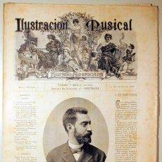Libros antiguos: ILUSTRACIÓN MUSICAL HISPANO-AMERICANA. AÑO I. NÚMERO 20 - 15 NOVIEMBRE - BARCELONA 1888. Lote 139151266