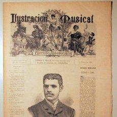 Libros antiguos: ILUSTRACIÓN MUSICAL HISPANO-AMERICANA. AÑO II. NÚMERO 1 - 15 ENERO - BARCELONA 1889. Lote 139151278