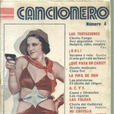 Libros antiguos: 2388.- CANCIONERO - MARGARITA CARBAJAL -CANCIONERO Nº 4 EDITORIAL ALAS. Lote 140151694