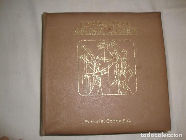 Libros antiguos: HISTORIA DE LA MÚSICA - EDITORIAL CODEX, MADRID - 1967 - 127 unidades buena condicion - Foto 3 - 140275918