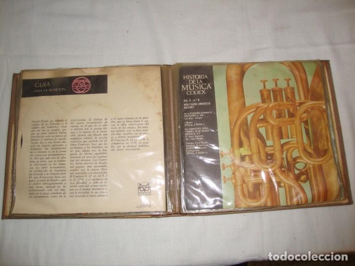 Libros antiguos: HISTORIA DE LA MÚSICA - EDITORIAL CODEX, MADRID - 1967 - 127 unidades buena condicion - Foto 4 - 140275918