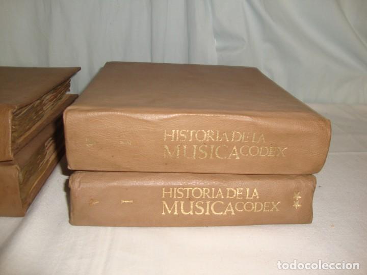 Libros antiguos: HISTORIA DE LA MÚSICA - EDITORIAL CODEX, MADRID - 1967 - 127 unidades buena condicion - Foto 5 - 140275918