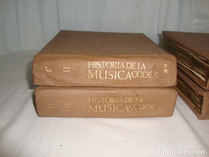Libros antiguos: HISTORIA DE LA MÚSICA - EDITORIAL CODEX, MADRID - 1967 - 127 unidades buena condicion - Foto 6 - 140275918