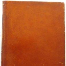 Libros antiguos: HENRY PRUNIÈRES: LA VIE ET L'OEUVRE DE CLAUDIO MONTEVERDI. 1ª EDICIÓN FRANCESA (PARÍS, 1926). Lote 140723346