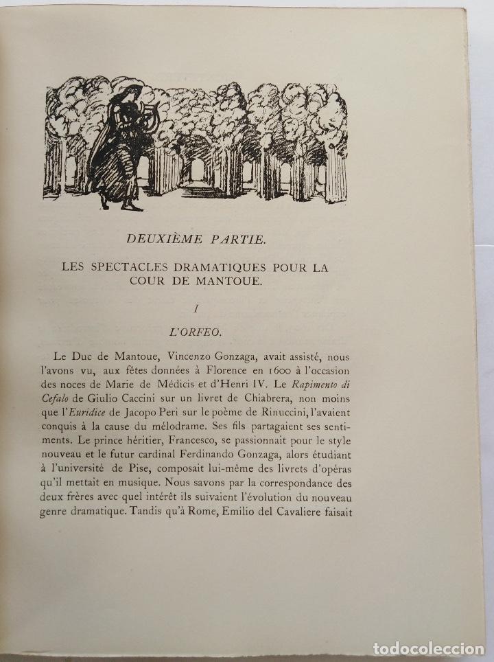 Libros antiguos: HENRY PRUNIÈRES: LA VIE ET L'OEUVRE DE CLAUDIO MONTEVERDI. 1ª EDICIÓN FRANCESA (PARÍS, 1926) - Foto 10 - 140723346