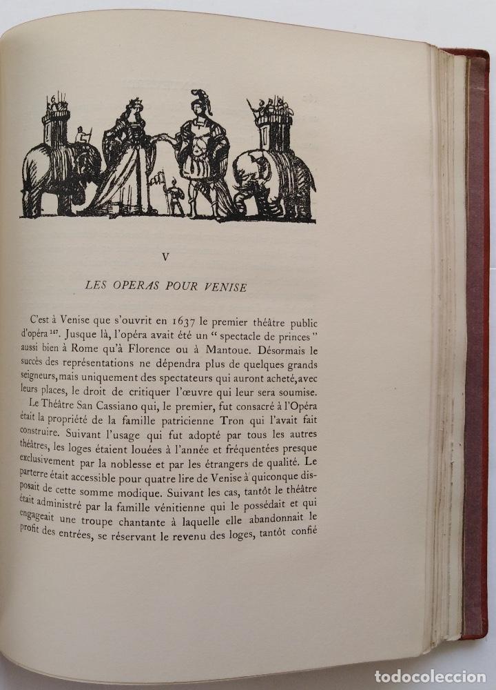 Libros antiguos: HENRY PRUNIÈRES: LA VIE ET L'OEUVRE DE CLAUDIO MONTEVERDI. 1ª EDICIÓN FRANCESA (PARÍS, 1926) - Foto 16 - 140723346