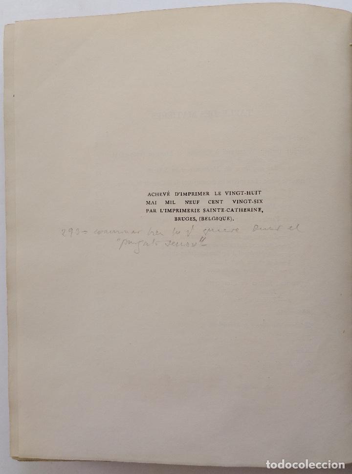 Libros antiguos: HENRY PRUNIÈRES: LA VIE ET L'OEUVRE DE CLAUDIO MONTEVERDI. 1ª EDICIÓN FRANCESA (PARÍS, 1926) - Foto 20 - 140723346