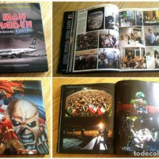 Libros antiguos: IRON MAIDEN. ON BOARD FLIGHT 666. Lote 140951570