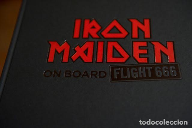 Libros antiguos: IRON MAIDEN. ON BOARD FLIGHT 666 - Foto 2 - 140951570