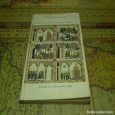 Libros antiguos: CICLO DE MÚSICA ESPAÑOLA MEDIEVAL. FUNDACIÓN JUAN MARCH. 1980.. Lote 141274178