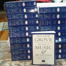 Libros antiguos: THE NEW GROVE DICTIONARY OF MUSIC ADN MUSICIANS. Lote 142343834