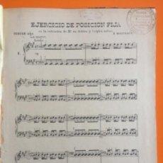 Libros antiguos: MUSICA- EJERCICIOS PARA PIANO- TERCER AÑO- R. MONTALBAN 1.92.... Lote 143369530