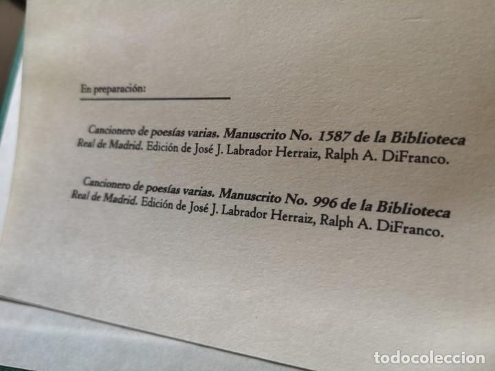 Libros antiguos: Cancionero de poesías varias - Foto 3 - 144230782
