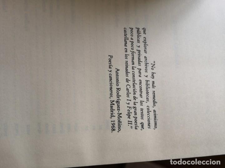 Libros antiguos: Cancionero de poesías varias - Foto 4 - 144230782