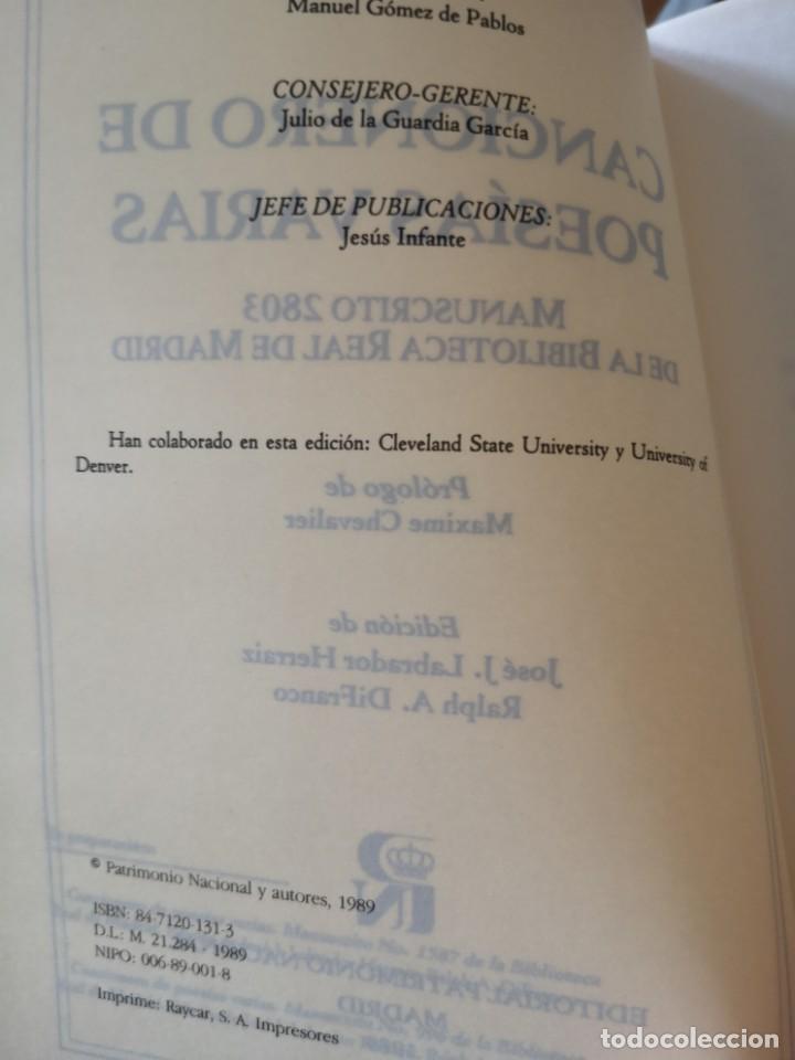 Libros antiguos: Cancionero de poesías varias - Foto 6 - 144230782