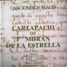 Libros antiguos: CARTAPACIO DE FRANCISCO MORAN DE LAS ESTRELLAS. Lote 144231286