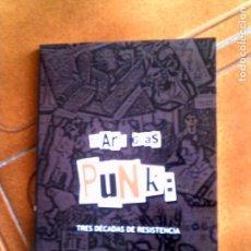 Libros antiguos: LIBRO DE MARC GRAS PUNK TRES DECADAS DE RESISTENCIA AÑO 2005 ILUSTRADO 125. Lote 148526818